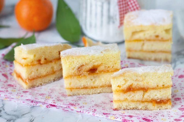 Ricetta Tortine all'arancia e marmellata