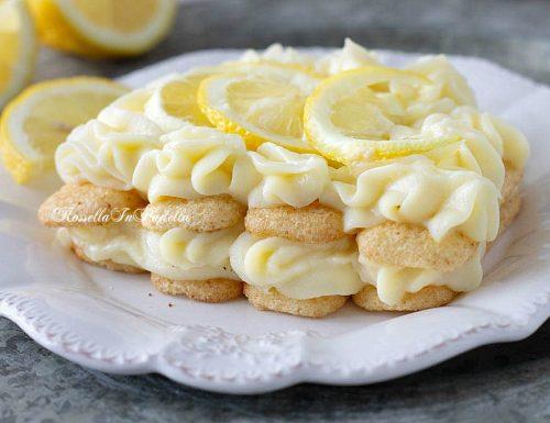 Zuppetta di pavesini al limone DOLCE FURBO