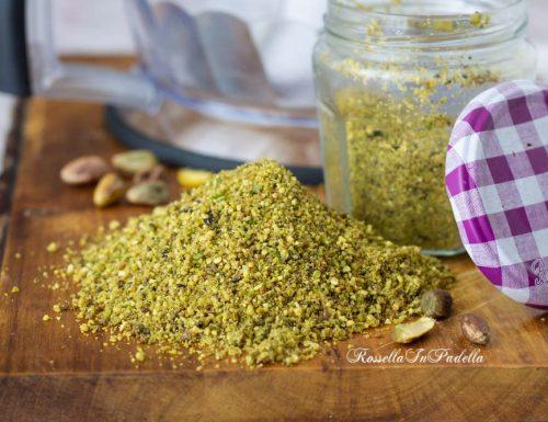 Farina di pistacchi fatta in casa