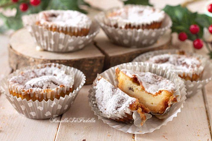 Mini Cheesecake con PANDORO