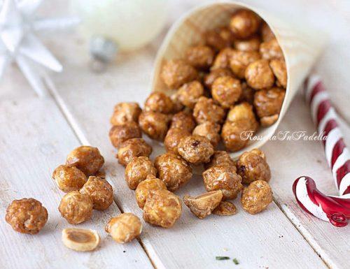 Nocciole caramellate, solo 2 ingredienti