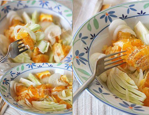 Insalata arance e finocchi