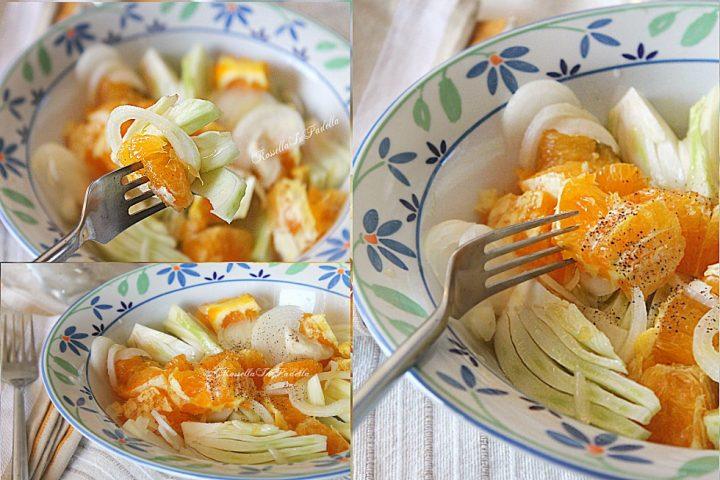 come fare l'Insalata arance e finocchi