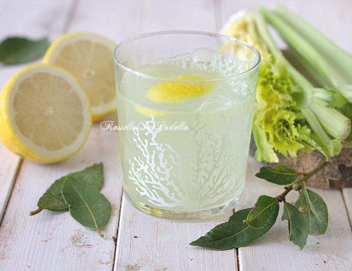 Limonata al sedano, bevanda digestiva
