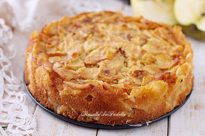 Ricetta melaccio torta di mele senza burro
