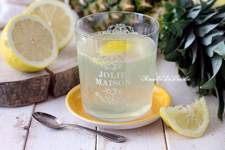 Ricetta tisana al limone