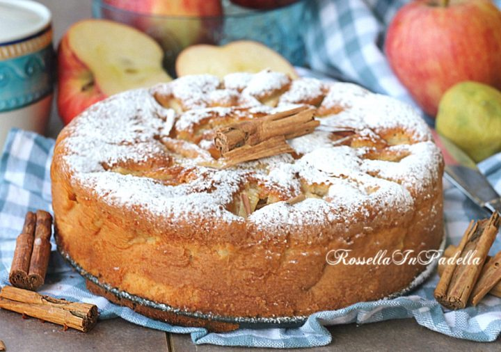 ricetta torta di mele senza latte senza burro