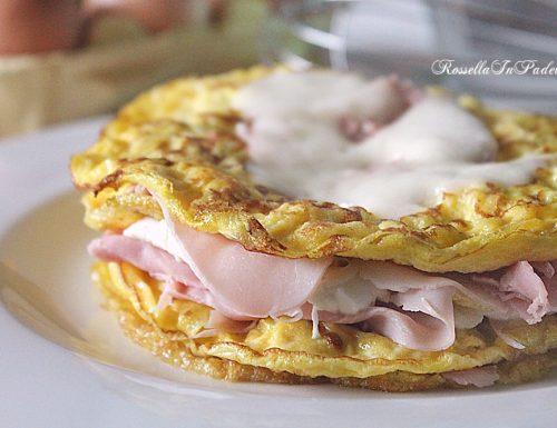 Torta di uova e patate
