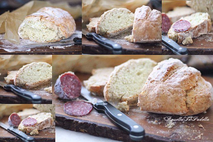 Ricetta PANE SENZA LIEVITO SODA BREAD