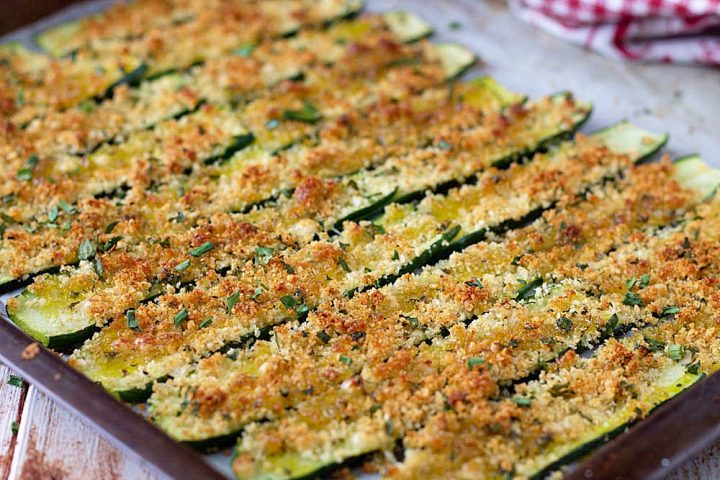 Ricetta con le zucchine al forno