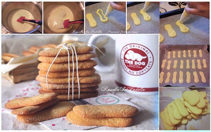 La ricetta per fare a casa i pavesini biscotti
