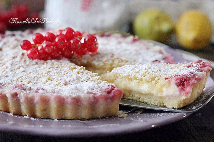 Ricetta TORTA SBRICIOLATA DI PAVESINI con crema limone SENZA COTTURA