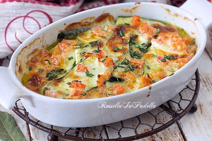 Ricetta zucchine al forno gustose