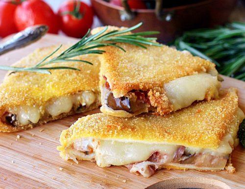 MELANZANE IN CARROZZA farcite con pancetta e formaggio