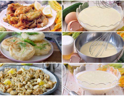 PASTELLA PER FRITTURE: 4 RICETTE FACILI E VELOCI per fritti asciutti e croccanti