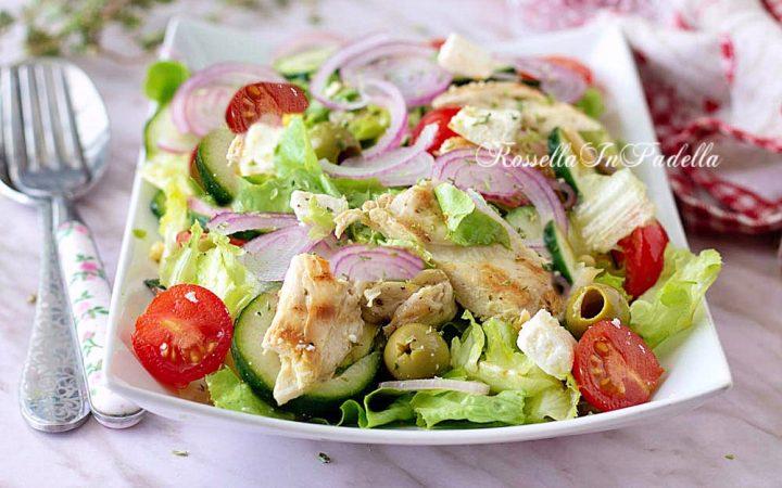 Ricetta insalata estiva con pollo