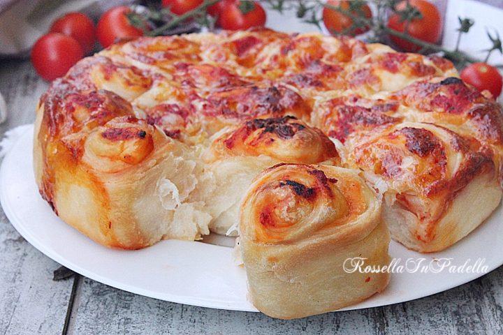 Ricetta ROSE DI PIZZA o pizza di rose