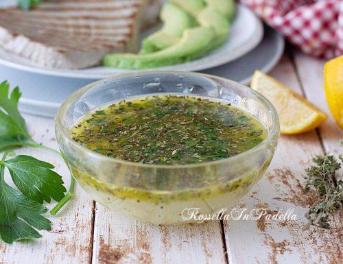 La ricetta del SALMORIGLIO, la salsa siciliana per marinare