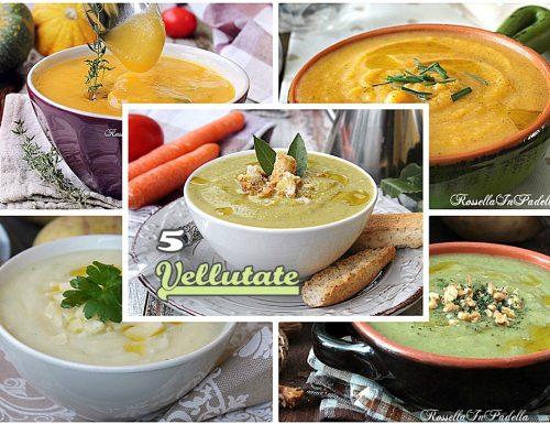 VELLUTATE: 5 ricette calde e confortevoli