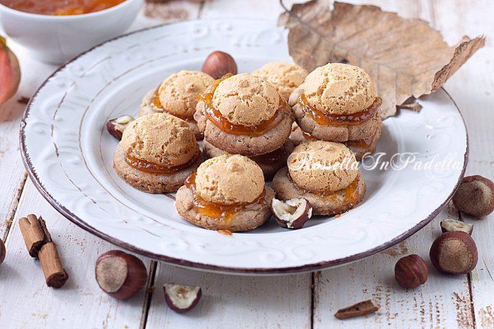Biscotti alle nocciole e marmellata originali