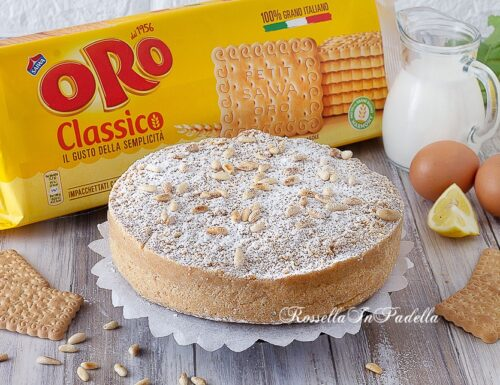 TORTA DELLA NONNA SENZA COTTURA