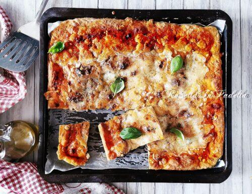 PIZZA IN TEGLIA SENZA IMPASTARE