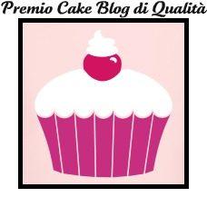 3° Premio ricevuto: Cake Blog di Qualità!!!!