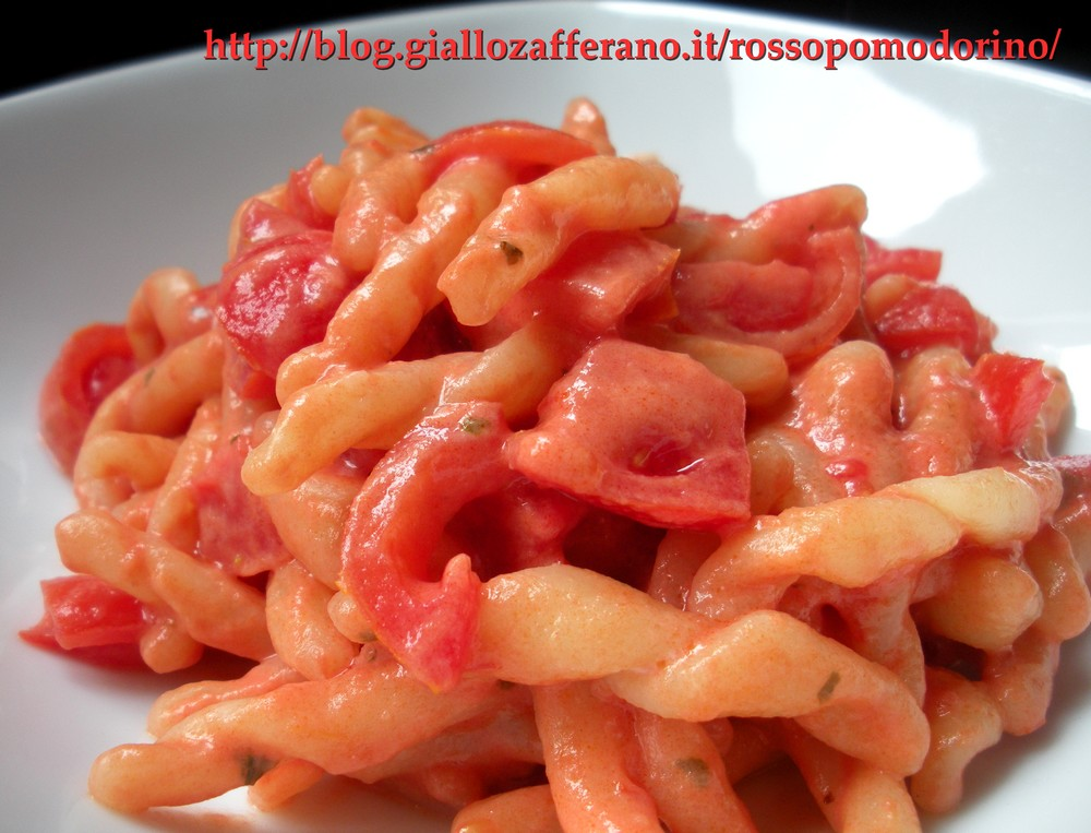 Ricetta pasta philadelphia e pomodorini