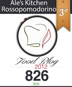 3° Best Food Blog 2012 e chiusura contest