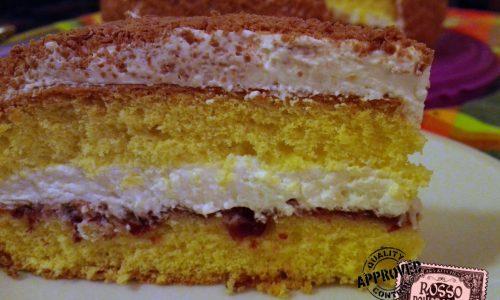 Torta alla panna | Ricetta dolce di compleanno