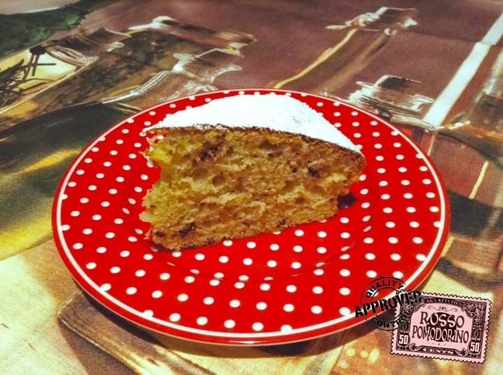 torta al mascarpone con gocce di cioccolato