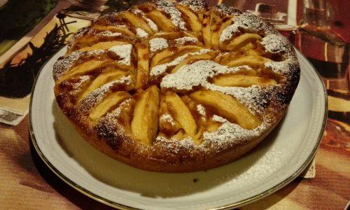 Torta di mele senza burro | Ricetta dolce