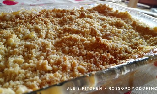 Crumble di mele | Ricetta dolce inglese