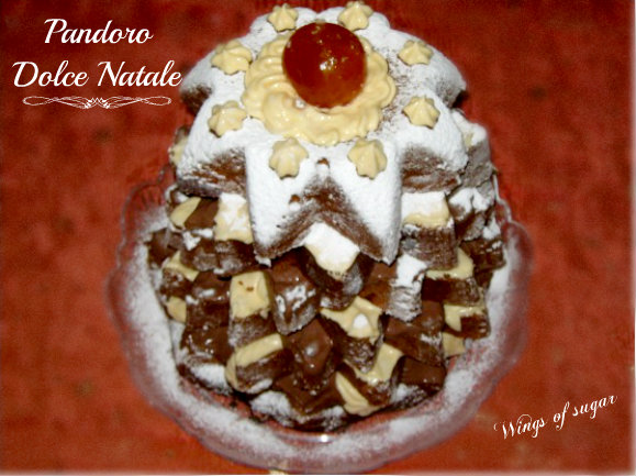 Pandoro dolce Natale- wings of sugar blog