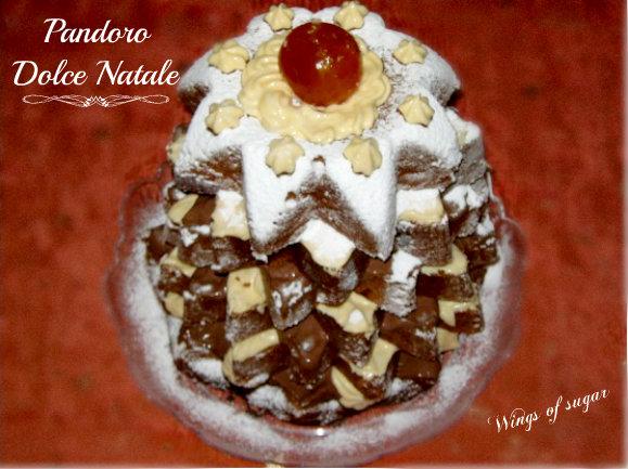 Pandoro dolce Natale- wings of sugar blog