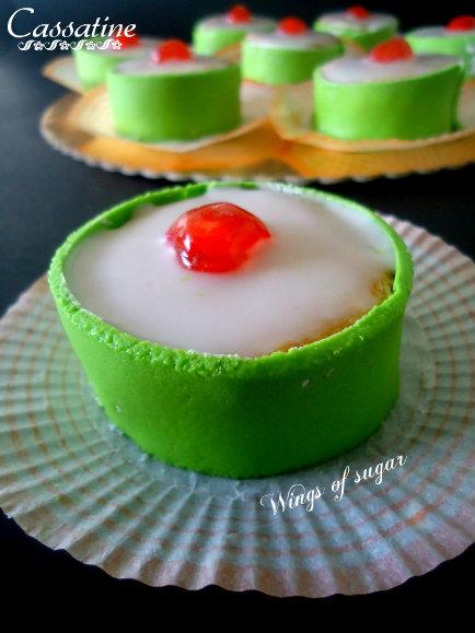 cassatine fatte in casa ricetta- wings of susgar blog