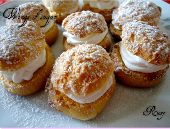 choux-alla-panna - wings of sugar blog
