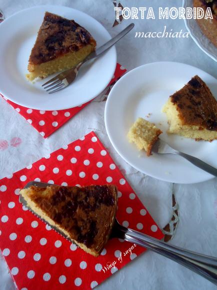 Torta morbida macchiata - wings of sugar blog