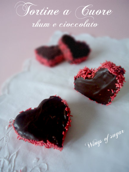 tortine a cuore dolci di S. Valentino - wings of sugar blog