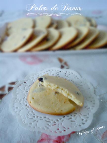 Biscotti Palets De Dames - wings of sugar blog