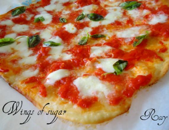 Pizzetta-margherita ricetta semplice e veloce