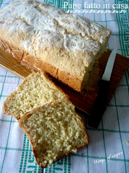 pane fatto in casa ricetta semplice e veloce - wings of sugar blog