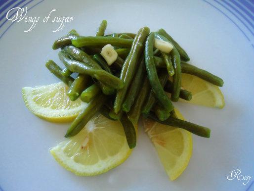 fagiolini all'insalata, ricetta semplice