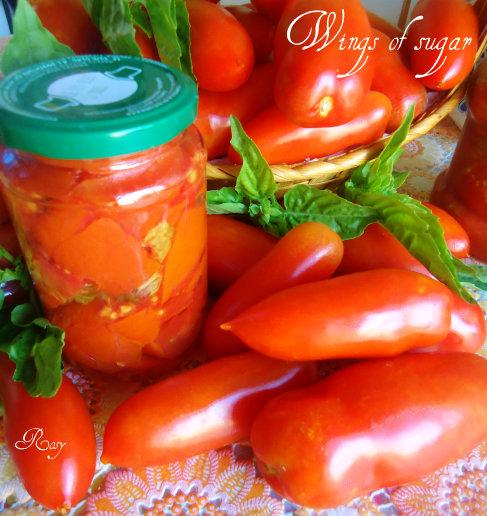 conserve di pomodoro ricetta - wings of sugar blog