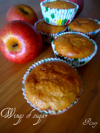 Muffin alle mele, ricetta