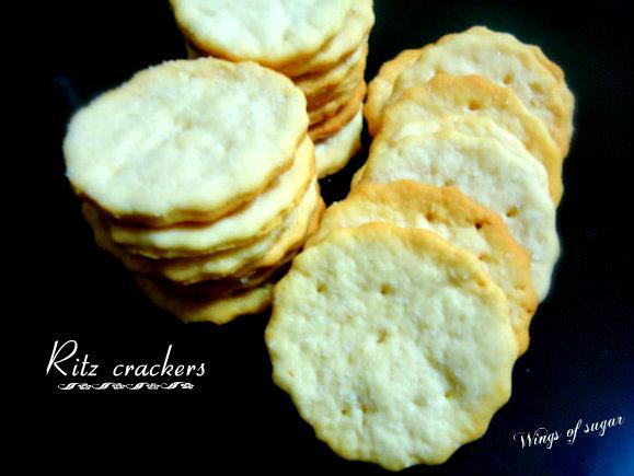 Ritz crackers homemade - wingsof sugar blog