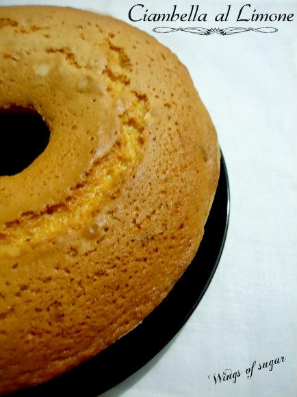 ciambella al limone- wings of sugar blog