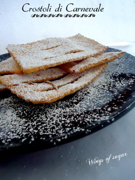 crostoli di carnevale - wings of sugar blog