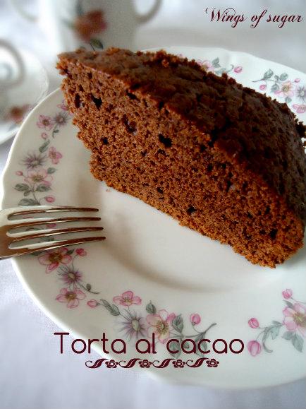 torta al cacao - wings of sugar blog