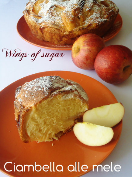 ciambella alle mele-wings of sugar